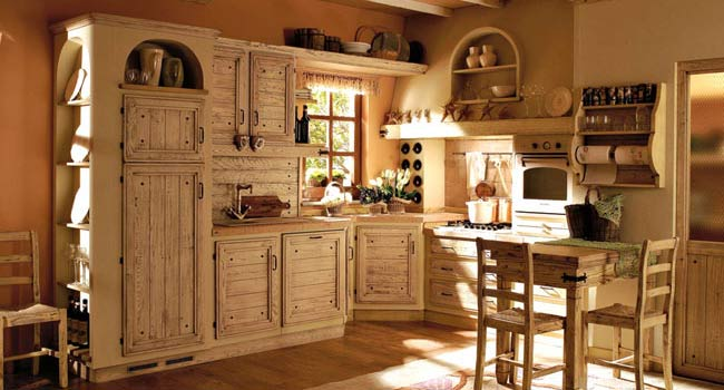 Come arredare una cucina country?