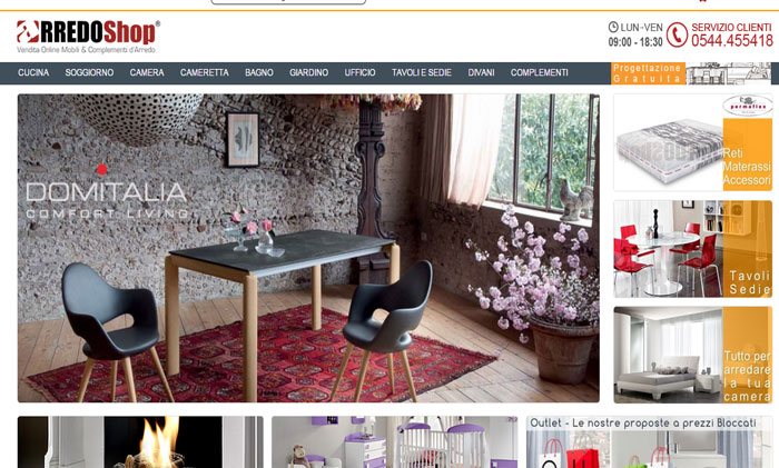 e commerce arredamento amazing feel design portale di